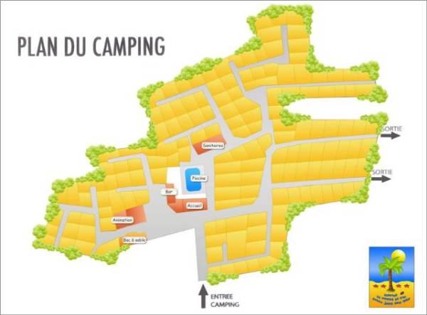 camping la pomme de pin jard sur mer vend e 85 campgrounds. Black Bedroom Furniture Sets. Home Design Ideas