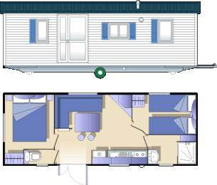 camping l 39 amitie trebas. Black Bedroom Furniture Sets. Home Design Ideas