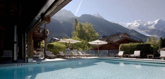 Chamonix Mont Blanca True Little Hamlet Well Situated Near The Town Centre In Blanc This Five Star Hotel Run By Maillet Carrier Family