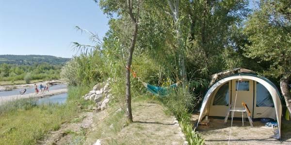 Camping Les Rives de l'Aygues