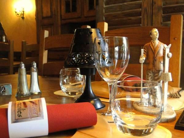 Hôtel les Ancolies Rest. la Table de Joséphine