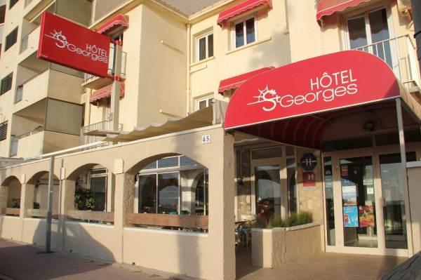 HOTEL SAINT GEORGES, FACE A LA MER