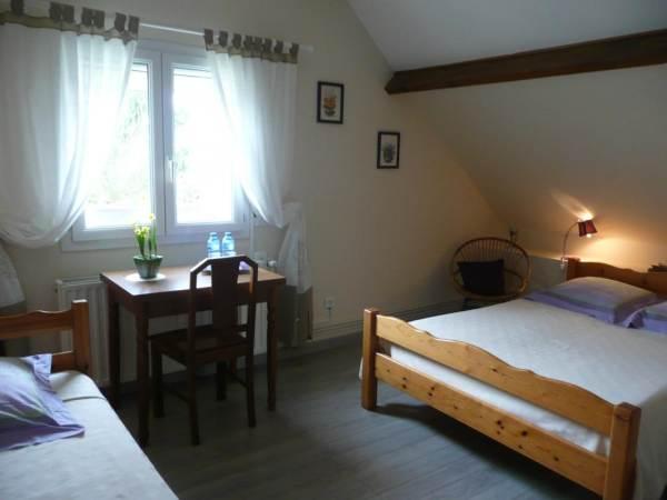 Chambres d'hôtes Gîte de France N°G20510 (Les 4 chemins)
