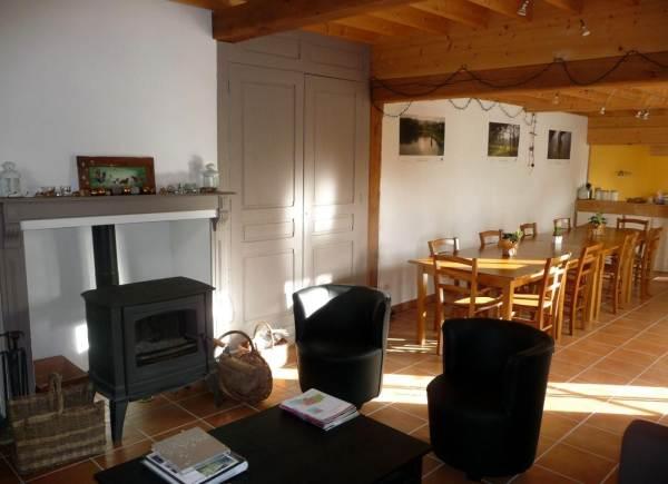 Chambres d'hôtes Gîte de France N°G20910 (Les noisetiers)