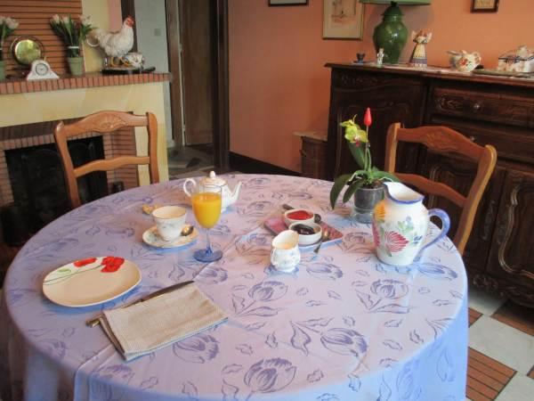 Chambres d'hôtes Gîte de France N°G9401 (ferme du fayard)