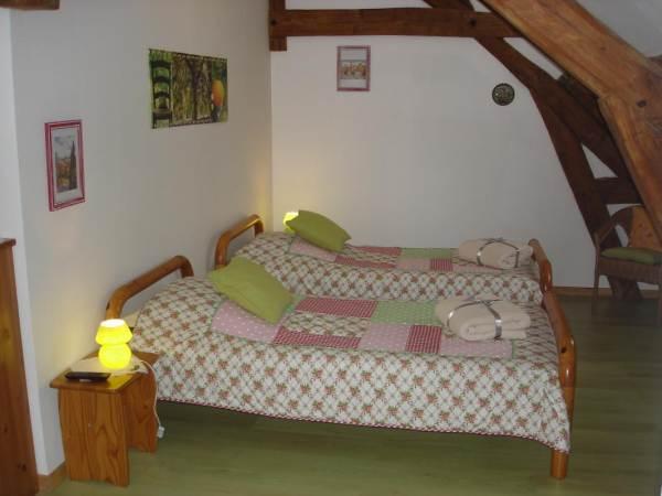 Chambres d'hôtes Gîte de France N°G158 (L'école Buissonnière)