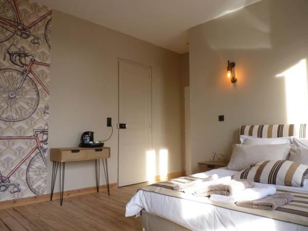 Chambres d'hôtes Gîte de France N°G442 (Le Rhino Rayé)