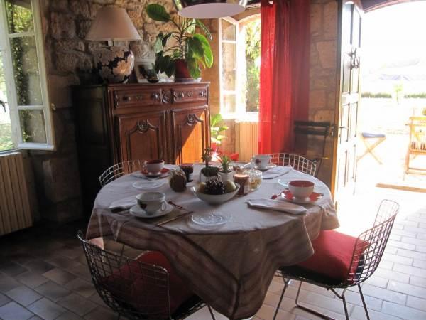 Chambres d'hôtes Gîte de France N°G2349 (La maison d'Annie - chambre)
