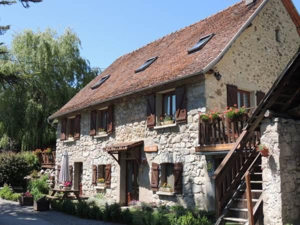 Chambres d'hôtes Gîte de France N°5417 (La Chabottine) CHABOTTES