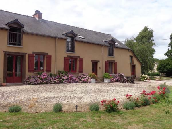 Chambres d'hôtes Gîte de France N°35G25009 (Domaine du Bois Basset)