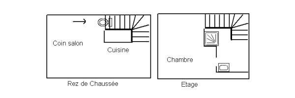 g te 2 pi ces cancale g te de france n 35g111582. Black Bedroom Furniture Sets. Home Design Ideas