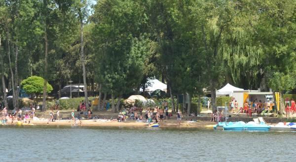 Camping municipal de la Roche Martin**