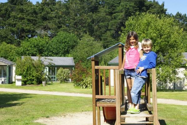 Le parc du Village : idéal pour les enfants !