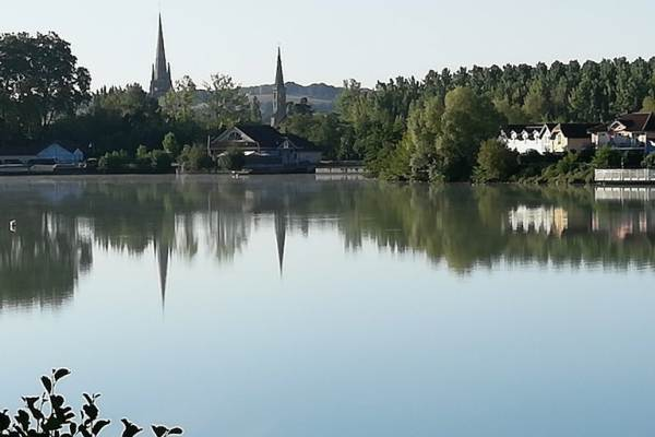 lac de Marciac à 200m du gite