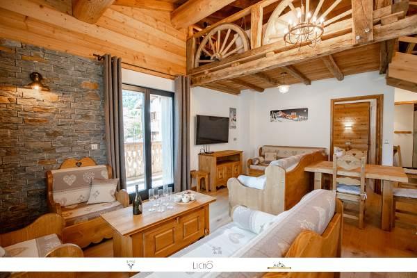 La Casa Plan Champ - Appartement Gran Casa AUSSOIS