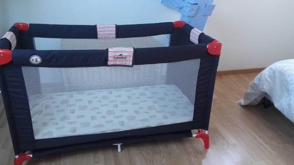 La Goélette : lit bébé à disposition sur demande + chaise haute + transat + poussette canne...