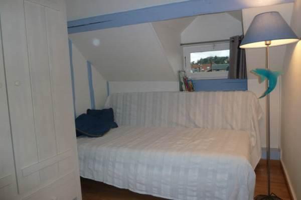 La Goélette : 3ème lit simple dans chambre 2