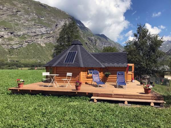 Le Kota des Etoiles - Camping La Grange du Travérole BESSANS