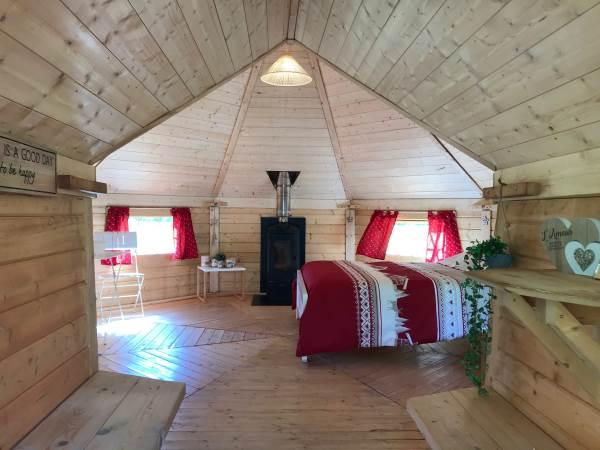 Le Kota des Etoiles - Camping La Grange du Travérole