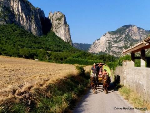 Drôme Roulottes Vacances & Drôme esprit nature