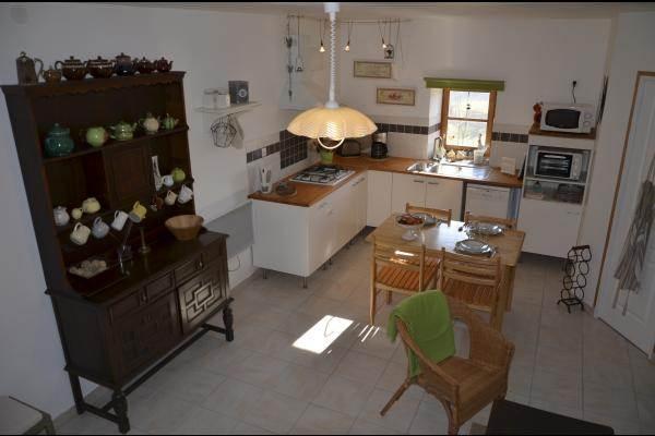 rdc espace cuisine salle à manger