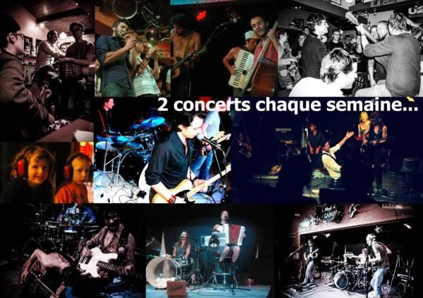Concerts de groupes émergents