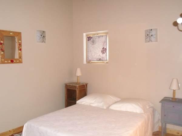la chambre vanille - 1 lit pour un couple