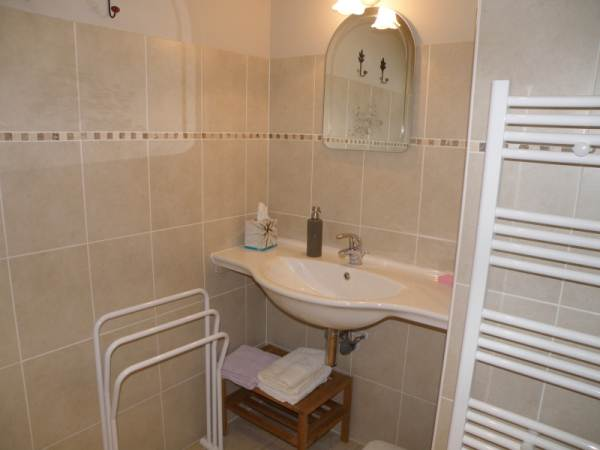 la salle de bain de la chambre Vanille