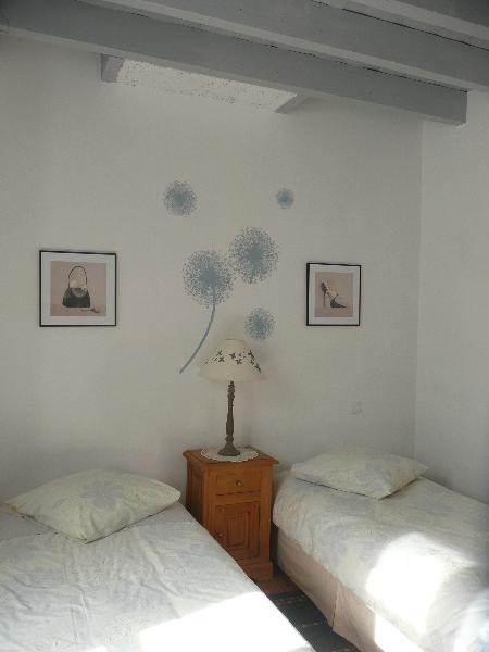 chambre mistougris - 1 lit couple ou 2 lits séparés