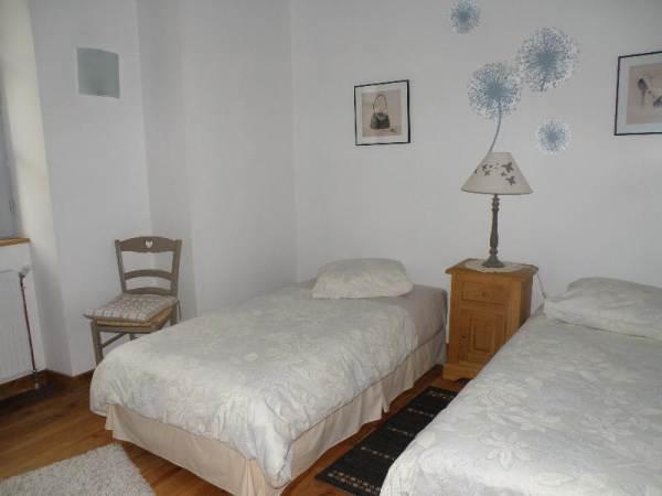 la chambre mistougris - 1 lit couple ou 2 lits séparés
