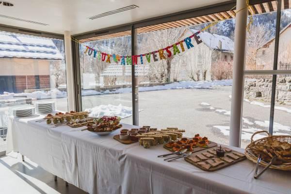 buffet d'anniversaire pour vos soirées privées