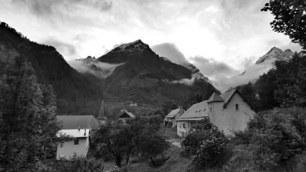 le hameau des Borels et la Maison du Berger