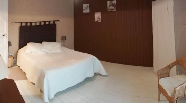 Chambre Arnette, lit double, 2ème étage