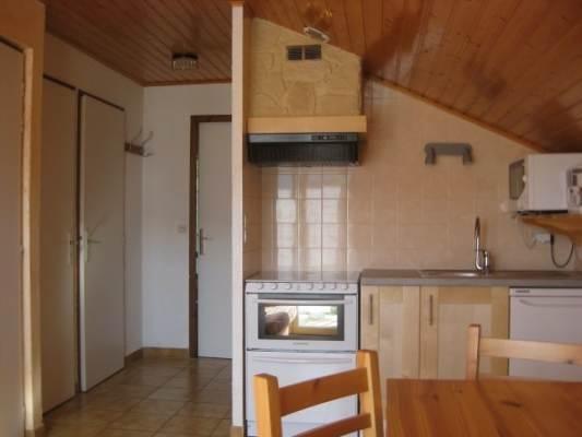 location appartement Meaudre Vercors - coin cuisine