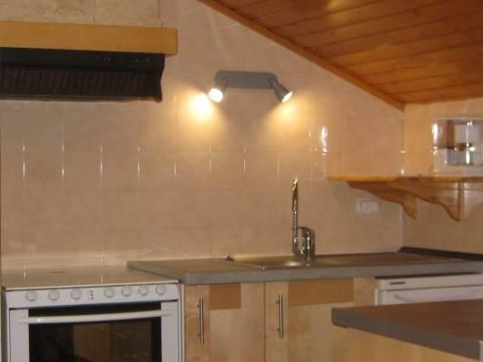 location appartement Meaudre Vercors - cuisine