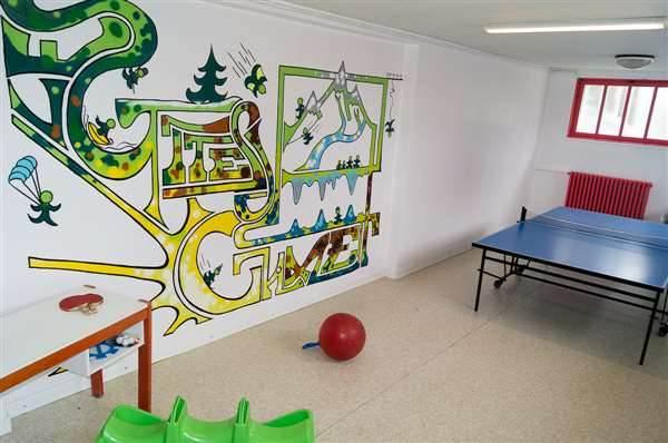 salle de jeux commune