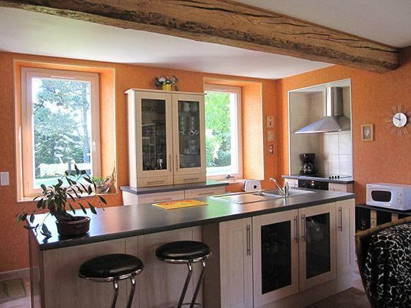 Cuisine ouverte  - Aussillon - Tarn -