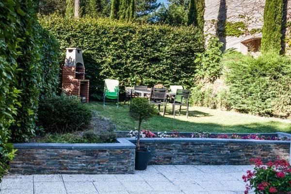 espace jardin prive