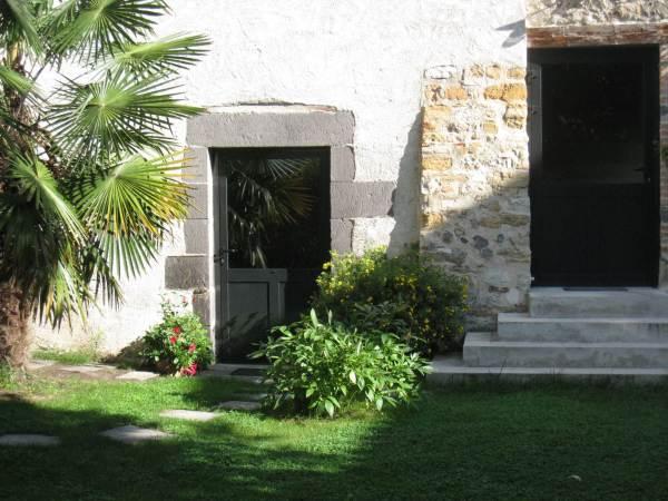 jardin et accès petit déjeuner