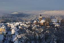 Le village en hiver