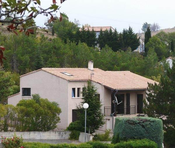 Minervois - Vue d'ensemble villa la Massalo