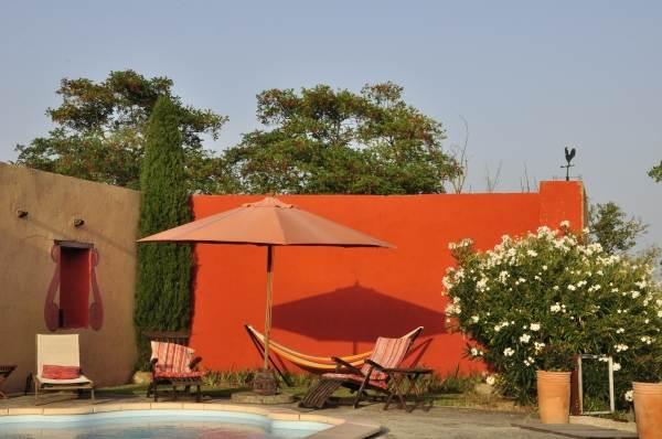 piscine haute en couleur