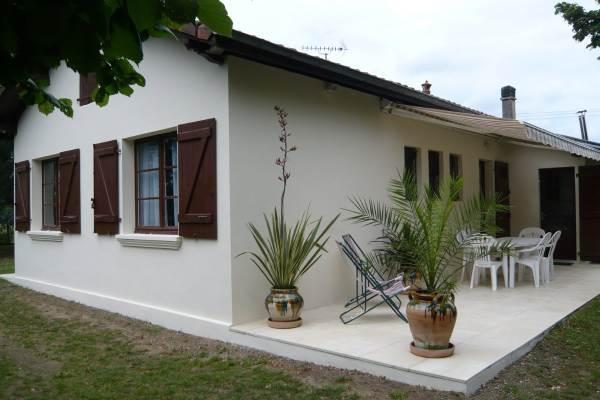 Terrasse  façade EST