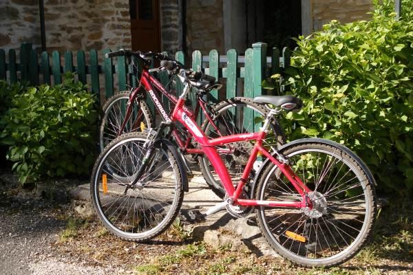 2 vélos en prêt