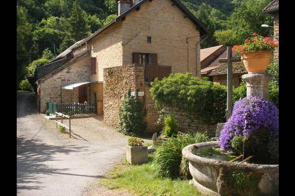 le gite et la fontaine - Gite dans un ancien pressoir avec piscine cadre superbe (Isère)