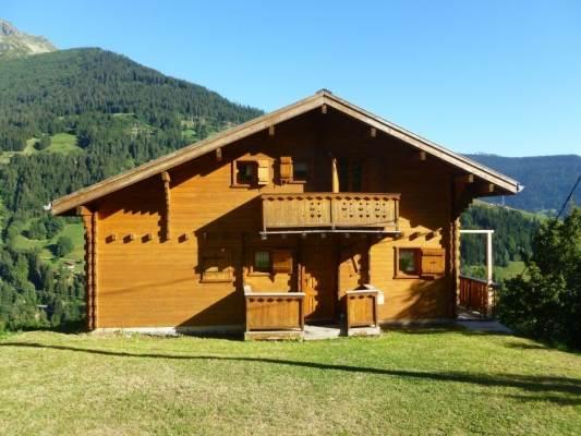 Chalet indépendant, vue Mont-Blanc, à Hauteluce en Savoie pour 8 personnes