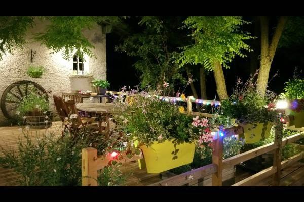 le soir, c'est guinguette au Colibri....!!!