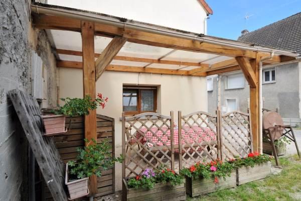 Espace terrasse couvert privatif