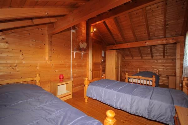 Chambre étage pour 3 personnes