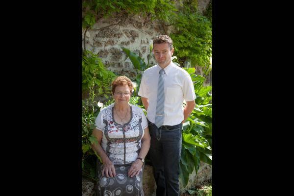 Franck et Marthe NEVE, les propriétaires